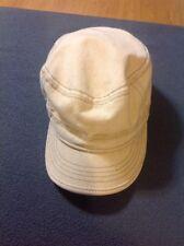 ANTHONY PETO FRANCE 8//4 BEIGE 100/% COTTON NEWSBOY CAP BAKERS BOY CABBY XL 61CM