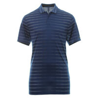 NIKE GOLF TIGER WOODS STRIPE POLO SHIRT - SMALL & X-LARGE - NAVY (BV0350-492)