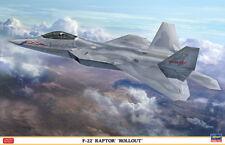 Hasegawa 1/48 Lockheed F-22 Raptor 'Rollout' # 07467
