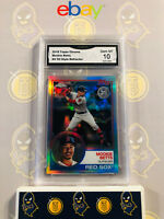 2018 Topps Chrome Mookie Betts #4 83 Style Refractor 10 GEM MINT GMA Graded Card