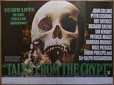 TALES FROM THE CRYPT (1972) - original UK quad film/movie poster, horror