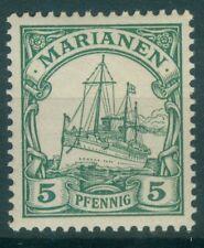 Deutsche Kolonien Marianen 8 , ** , * , o , - Schiffzeichnung