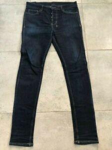 Ksubi Jeans (Mens) - Rinser (Dark Blue with Yellow Stitching) -Chitch - 34