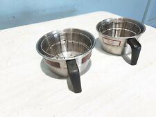 Lotof 2 Wilbur Curtis Sh Wc 3318 Coffee Brewer Funnel Basket For Alpha 1gt 3gt