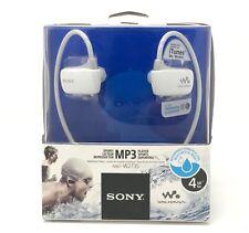 SONY NWZ-W273S 4GB Waterproof Walkman Sports Swimming MP3 Player (White) NEW