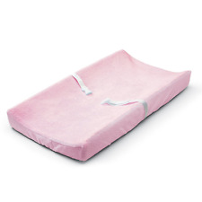 Baby Changing Table Pad Cover Contoured Diaper Change Infant Nappy Changing PINK