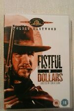 A Fistful Of Dollars (DVD) New not sealed. Clint Eastwood.