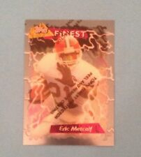 1995 Topps Finest Football #120 Eric Metcalf NM Cleveland Browns