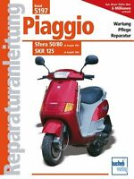 PIAGGIO SFERA 50 80 SKR 125 Reparaturanleitung Reparaturbuch Handbuch Wartung