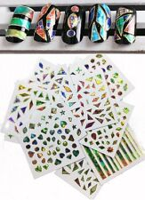 24 Sheets Nail Stickers Art Transfer 3D Galaxy Manicure Tips Decal Decoration