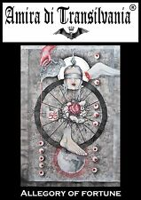 Wheel of fortune magic painting*Glücksrad*Roue de la fortune*Колесо фортуны*転変*