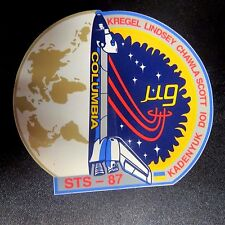 NASA Space Shuttle Mission STS-87 Columbia '97, SPARTAN Gravity Decal  Sticker