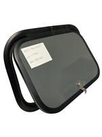 """18.5"""" X 13.5"""" X 1"""" Gray RV Baggage Cargo Compartment Access Storage Door Camper"""