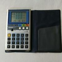 TRY 3 CASIO Electronic Calculator MG-777 GAME Japan vintage retro used