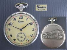 Pocket watch MOLNIJA CORSAR LOCOMOTIVE USSR Soviet Russian for Germany Rare