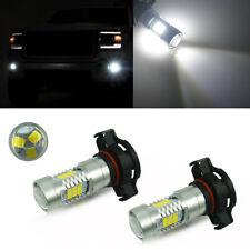 2pcs White 5202 H16 Daytime Running DRL Fog Light LED Bulbs For GMC Chevy Jeep