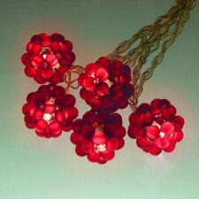 flèche rouge guirlande lumineuse 20 PARTIES perlenkugel Rouge lampes Noël
