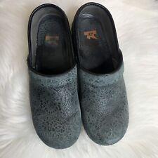 Women's Dansko XP Nurse Shoe Clogs Mules Loafers Dusty Blue 41 (US 10.5-11)