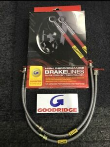 VW Golf MK5 3.2 V6 Goodridge brakelines SVW0615 front kit - £19.99
