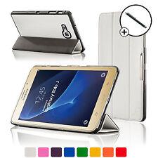 Pelle Bianca Pieghevole Smart Custodia Cover cover Samsung Galaxy Tab J/J
