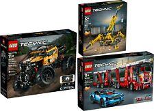 LEGO TECHNIC 2019 Xtreme-Geländewagen Spinnen-Kran 42099 42098 42097  N8/19