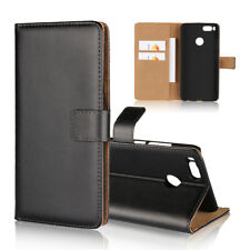 For Xiaomi Mi A1/5X Redmi Note 3 4X Max 2 Genuine Leather Wallet Flip Case Cover