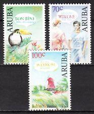 Dutch Antilles / Aruba - 1991 Greetings - Mi. 100-02 MNH
