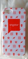 SINGSTAR BRANDED PHONE CASE FOR iPHONE 5 OR 5s. WHITE & ORANGE. LIMITED EDITION