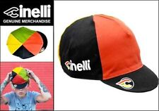 CINELLI ITALO 79 CYCLING BIKE CAP - VINTAGE - Fixed Gear - Made in Italy - Black