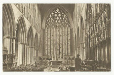 Cumbria - Carlisle Cathedral, East Window - Vintage Postcard