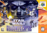 Star Wars Shadows of the Empire Nintendo 64 N64 Tested Cart Only Authentic