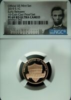 2019 S NGC PF 69 Red UCAM Lincoln Shield ☆☆ Early Releases ☆☆ Lincoln Label