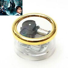 Gorgerous Circle in Silver Wind Up Music Box : Harry Potter Hedwig's Theme