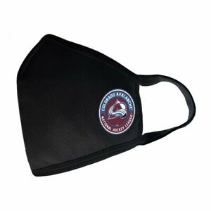 Colorado Avalanche NHL Team Logo Face Cover with Filter