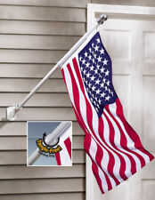 Easy To Install Tangle Free American USA Flag and Flag Pole