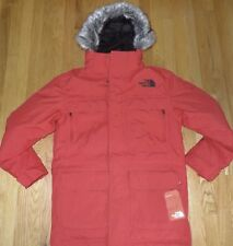 The North Face Men's McMurdo III 550 Down Parka Jacket M Medium TNF RED NWT $330