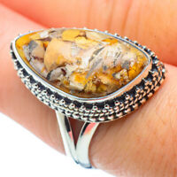 Brecciated Mookaite 925 Sterling Silver Ring Size 8.25 Ana Co Jewelry R31991