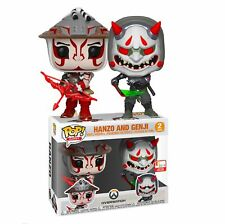 Overwatch Hanzo & Genji E3 2019 Exclusive Pop! Vinyl Figure 2-Pack