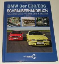 Manual de Reparaciones Desarmado BMW E30/E36 Incl. Cabrio, 1982-2000