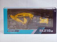 """Kobelco SK210LC-10 Excavator - """"YELLOW"""" - 1/50 - Motorart - Brand New"""