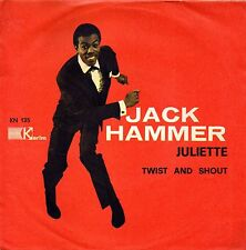 Jack Hammer-Juliette/Twist And Shout 45 giri NM Promo Italy northern soul rare