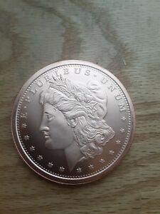 5oz Copper Round - Liberty Head