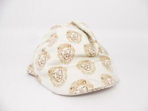 Toddler Boys' Lion Driving Cap Hat Genuine Kids from OshKosh Cream (Ivory) 3T