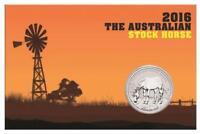 2016  1$   Australien im Blister 1 Unze Silber .999  Australian Stock Horse