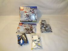 Lego Star Wars Complete Lot 75075 30246 8028 At-At Imperia