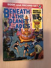 Beneath The Planet Of The Apes Book & Record Set, Power Records 1974