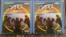 SUPERMAN II (Part 1 & Part 2) Video Disc Set CED 1983 Pre-owned
