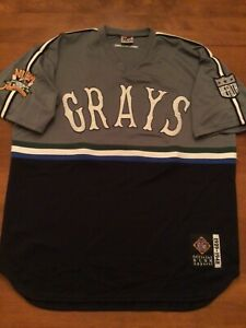 SEWN HOMESTEAD GRAYS NEGRO LEAGUE #20 Size 2XL BASEBALL OFFICIAL NLBM JERSEY