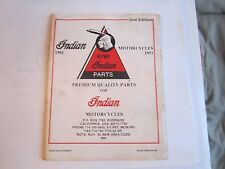 1992 INDIAN MOTORCYCLES - QUALITY PARTS CATALOG - BOOKLET - BN-12