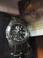 LOTUS CHRONO WATCH MEN RELOJ